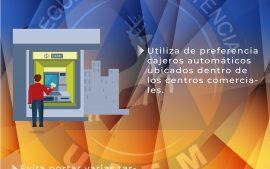 Precaución en los Cajeros Automáticos