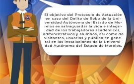 Protocolo de Actuación en caso del Delito de Robo de La Universidad Autónoma del Estado de Morelos 1